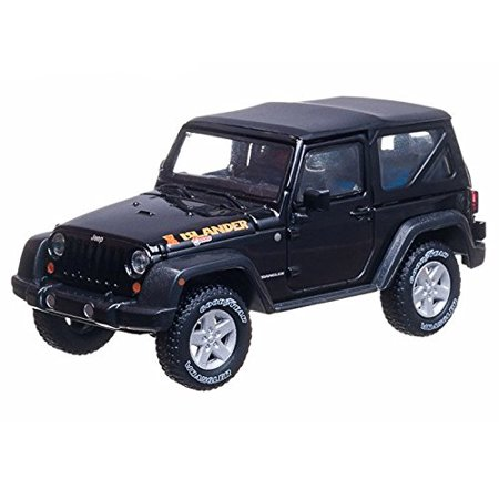 2010 Jeep Wrangler Islander 1/43 Black, 1:43 scale die-cast metal and plastic By Collectable Diecast