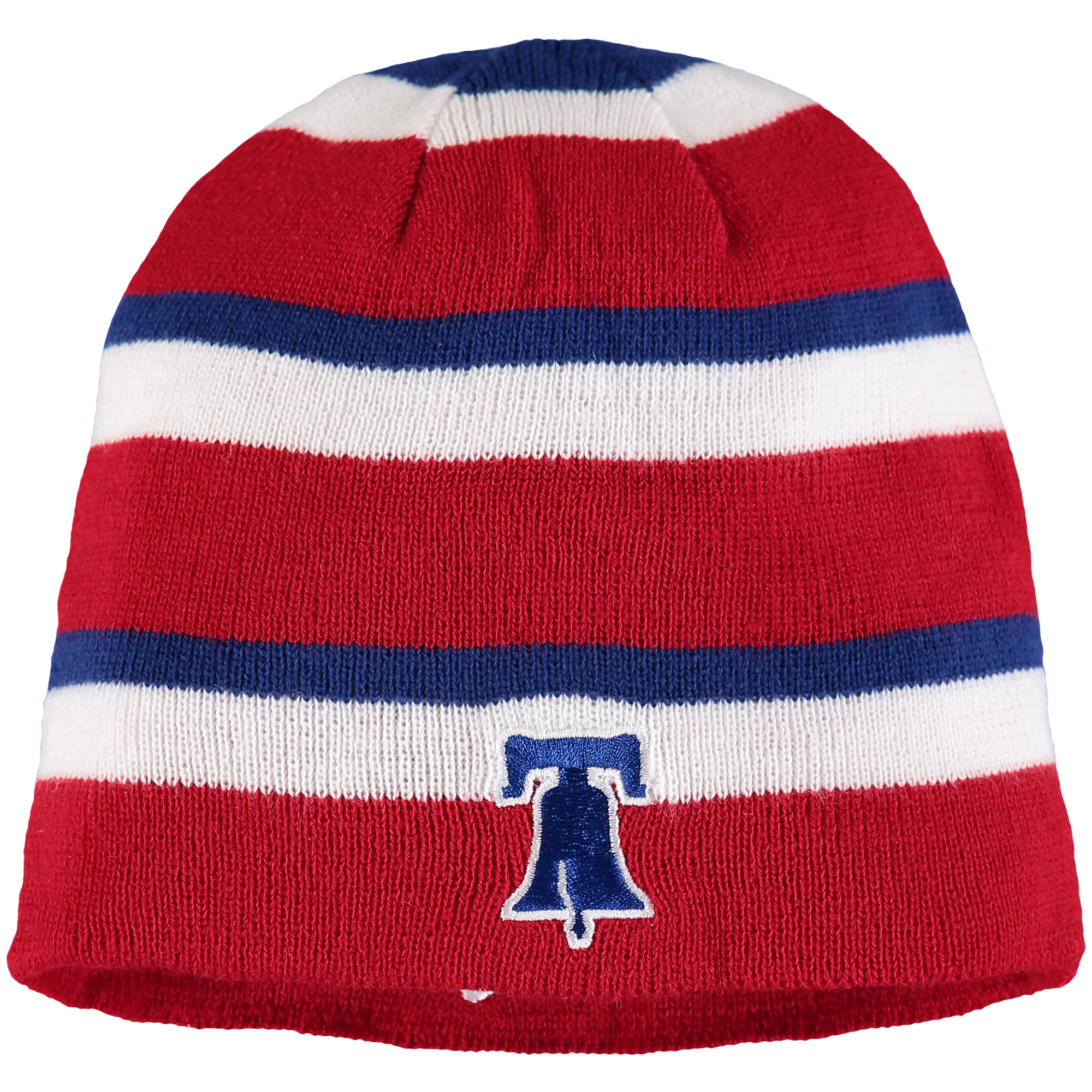 Philadelphia Phillies '47 Iconic Reversible Cuffless Knit Beanie - Red - OSFA