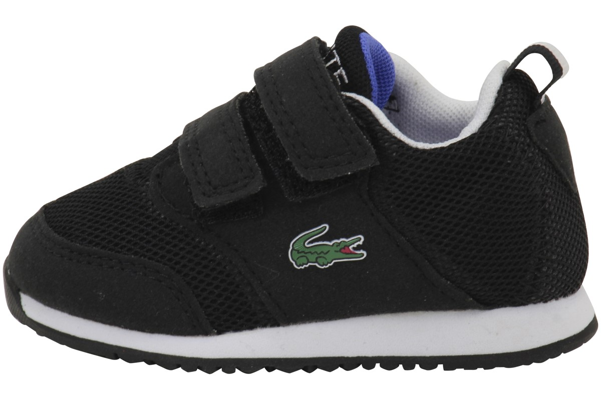 Kids Unisex L.ight 117 1 SP17 Toddler Black Shoe Lacoste 7-33SPI1004231