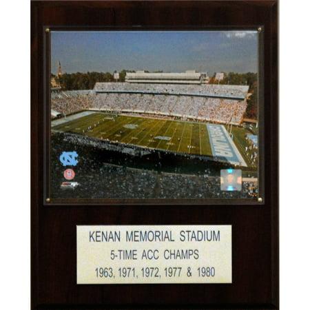 C&I Collectables NCAA Football 12x15 Kenan Memorial Stadium Stadium (Pet Memorial Plaque)