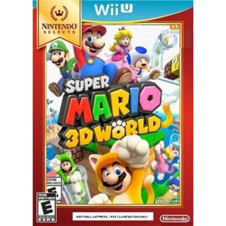 Princess Peach Luigi (Nintendo Selects: Super Mario 3D World, Each character has unique abilities and play styles. For example, Princess Peach glides over gaps, while Luigi has his.., By by)