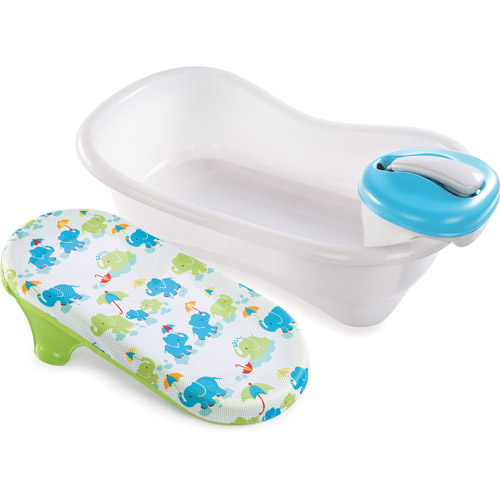 Summer Infant Bath Center and Shower, Blue