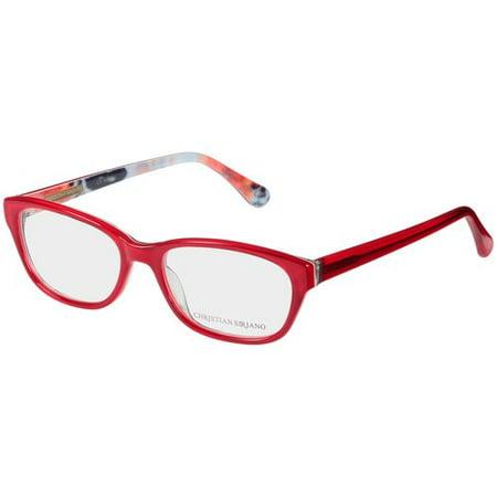 Christian Siriano Eyeglass Frames, Karly--Red Print - Walmart.com