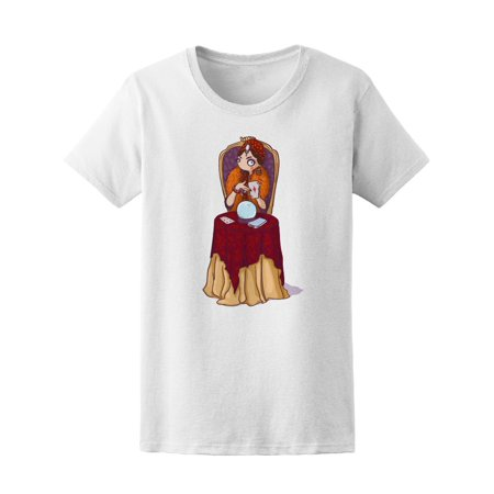 Cute Circus Fortune Teller Tee Women's -Image by Shutterstock - Fortune Teller Clothes