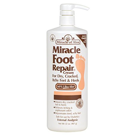 Miracle Foot Repair Cream - for Dry, Cracked, Itchy Feet & Heels (32