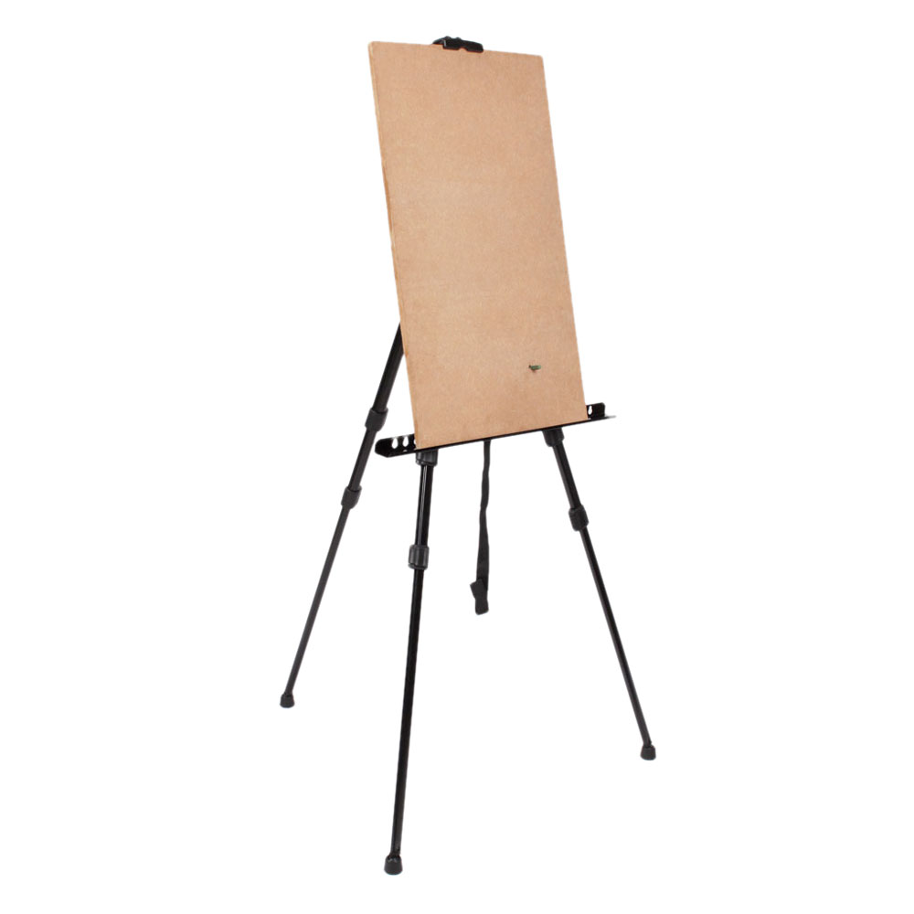 Zimtown Adjustable Artist Triopd Painting Drawing Easel Display Stand Whiteboard Holder Floor Sketching Exhibition, Wedding Studio, Collapsible New - image 4 de 7