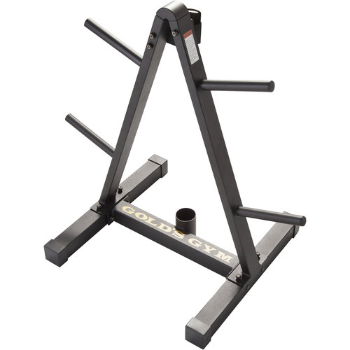 Gold's Gym Weight Plate and Barbell Storage Rack
