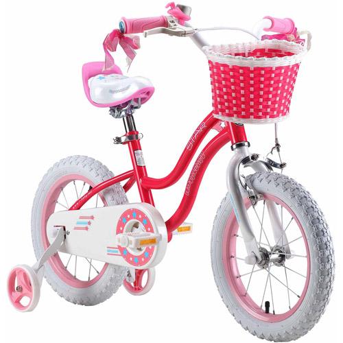 Bicicleta Para Niño(A) Royalbaby Stargirl chica39; s bicicleta con llantitas y cesta, perfecto regalo para los niños. Ruedas de 16 pulgadas, color de rosa + Royalbaby en Veo y Compro
