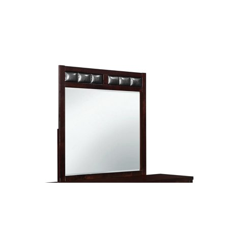 Global Furniture USA Rosa Mirror Antique Black (Rosa Rahmen-ray-verbot-flieger)