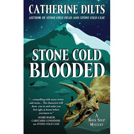 Rock Shop Mystery: Stone Cold Blooded (Paperback)