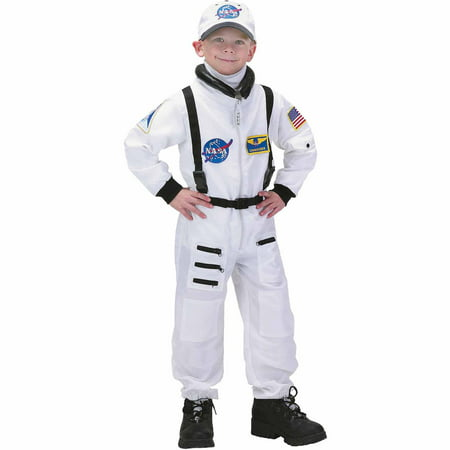 61b04d24f134 White Astronaut Suit Child Halloween Costume - Walmart.com