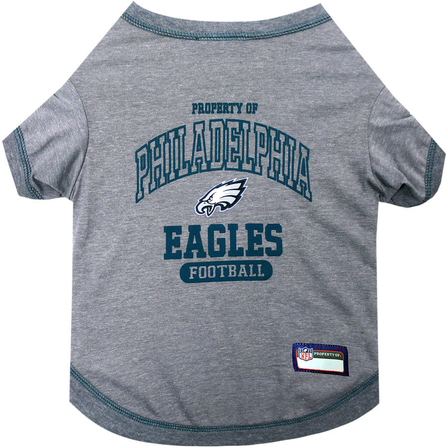 Pets First NFL Philadelphia Eagles Pet T-shirt, Assorted Sizes