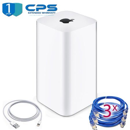 Airport Extreme (6th Gen) + 3 Ethernet Cables + 1 Year