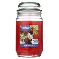 Better Homes & Gardens Sunlit Strawberry Patch Single-Wick 18 oz. Jar Candle