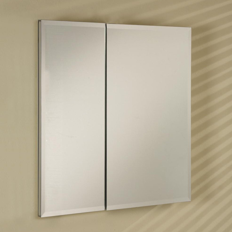 Afina Broadway Recessed Double Door Medicine Cabinet