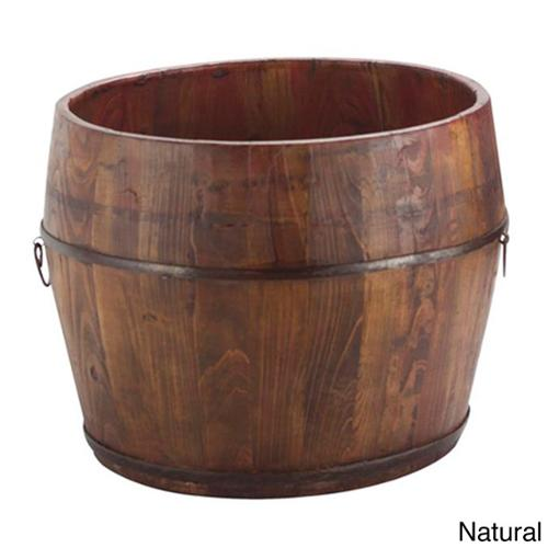 Round Household Decorative Bucket Natural