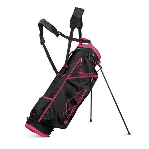 Sun Mountain 2017 2Five Stand Bag - Black / Red