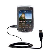 Classic Straight USB Cable suitable for the Blackberry Torch 2 with Power Hot Sync and Charge Capabilities