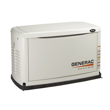 Generac 6237 Guardian 8,000 Watt Propane Natural Gas Standby Power Generator (Generac Generators 8000 Watt)