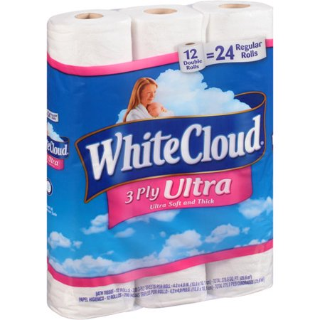 white cloud bathroom tissue white cloud ultra comfort bathroom tissue 12 ct walmart 21511 | bec6597e 9a38 4e37 81fd 1df8b51d6b56 1.5e2349c44ad6bdbc07ec886b38edef31