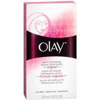 OLAY Active Hydrating Beauty Fluid Original 4 oz (Pack of 2)