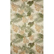 Liora Manne Ravella Tropical Leaf Outdoor Rug