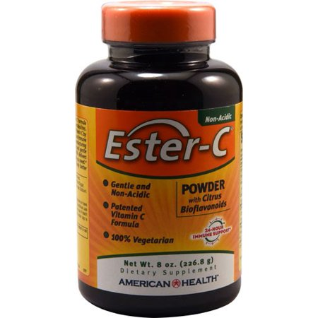 8 Ounce Liver - American Health American Health Ester-C Powder with Citrus Bioflavonoids - 8 Ounce
