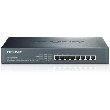 TP Link TL-SG1008PE 8-port Gigabit Desktop/rackmount