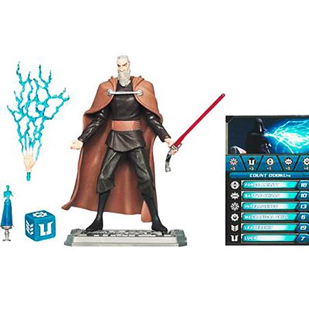 Star Wars-lucas Sw Cw Basic Fig Count Dooku