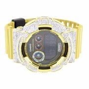 Exclusive G-Shock Metallic Gold Watch GD120CS-1 For Men Sports Edition Lab Di