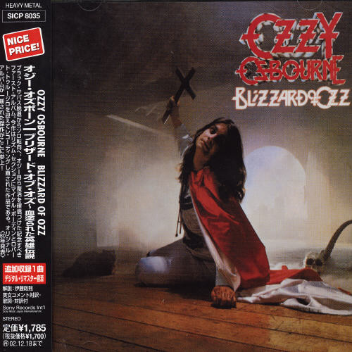 Blizzard Of Ozz (Bonus Track) (Jpn) (Rmst)