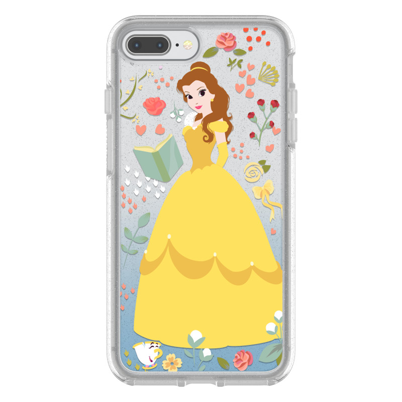 Otterbox Symmetry Series Power of Princess Case for iPhone 8 Plus 7 Plus, Garden of Honor (Mulan) by OtterBox