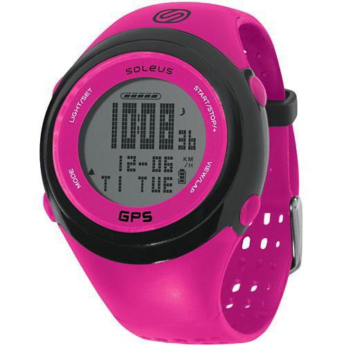 Image of Soleus GPS Fit 1.0 Pink Watch