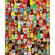 "Jigsaw Puzzle, 1000 Pieces, 24"" x 30"", 99 Bottles Of Beer On The Wall"