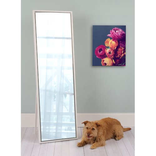 Kate and Laurel Evans Wood Framed Free-Standing Mirror