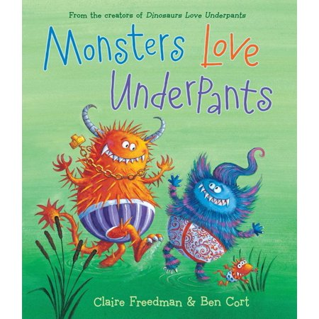 Dinosaurs Love Underpants - Monsters Love Underpants