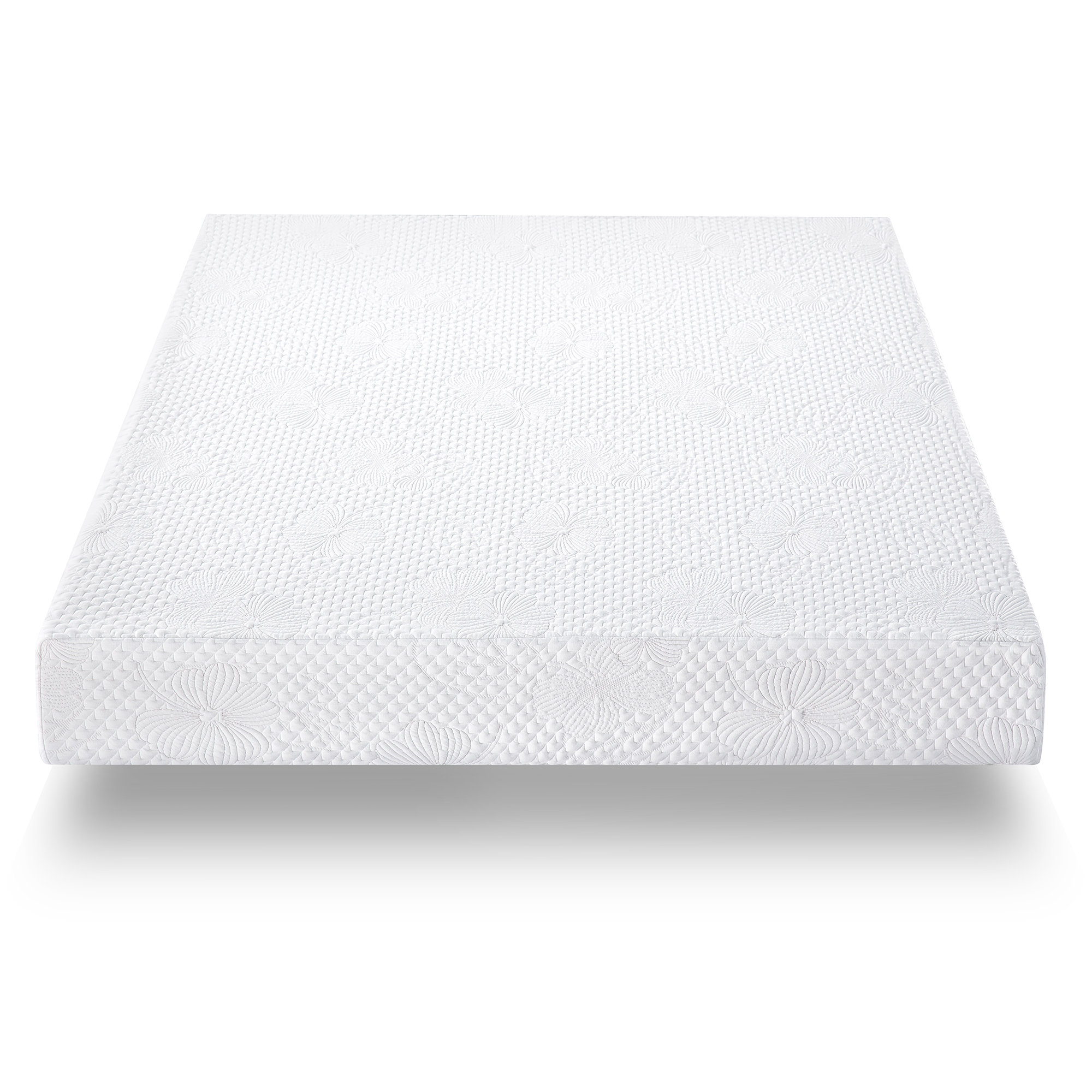 "GranRest 6"" Saturn Comfort Memory Foam Mattress Mattress-in-a-Box by Grantec Co., Ltd"