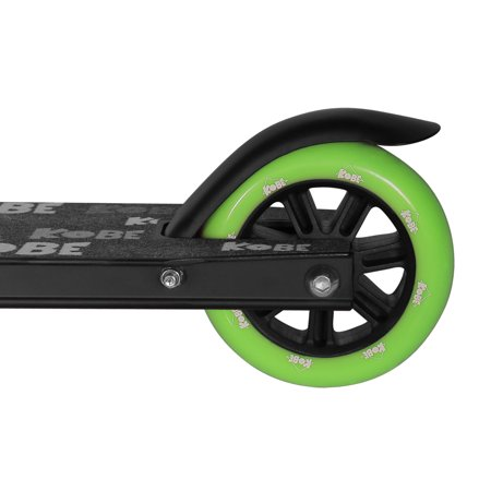 KOBE EDGE Kick Pro Scooter 2 Wheel - Reinforced Steel - Curved T-bar - Teens, Kids 5-yo and above - Green - image 7 de 11