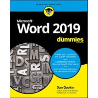 Word 2019 for Dummies (Paperback)