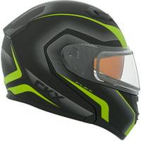 CKX Lucas Flex RSV Modular Helmet, Winter Double Shield
