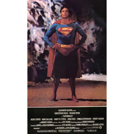 Superman 3 POSTER Movie E Mini Promo