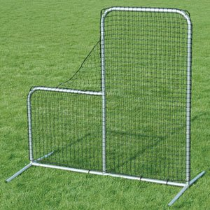 "Champro Pitcher's Safety L-Screen - 7' x 7' with 40"" Drop"