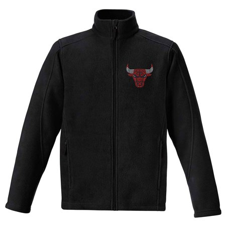 Nba Halloween Costumes (Chicago Bulls Women's Rhinestone Full-Zip Fleece Jacket -)