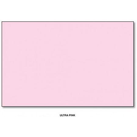 Mohawk BriteHue Bright Color Paper, 24/60lb paper. Text 100 Sheets Per Pack (11 x 17, Ultra Pink)
