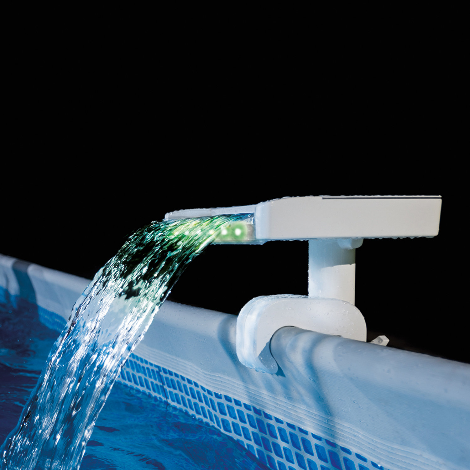 Intex Multi-Color LED Waterfall Cascade For Above Ground Pool