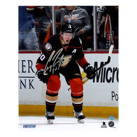 Steiner Sports Corey Perry Anaheim Ducks Celebrates Ot Goal Against Colorado Avalanche Signed Graphic Art
