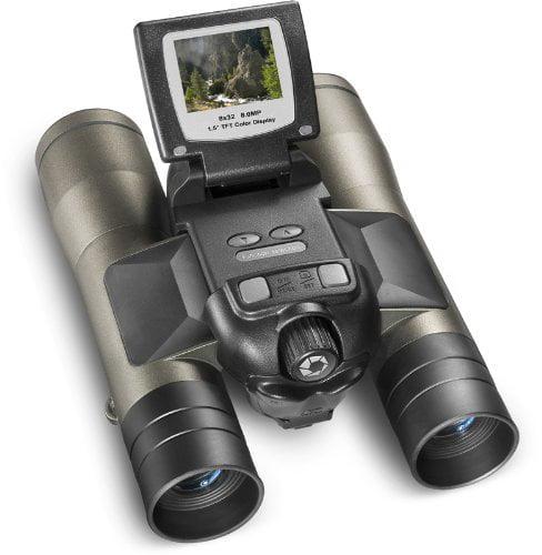 Barska AH11410 8x32mm Point N View Binoculars, 8 Mp And Camera by Barska