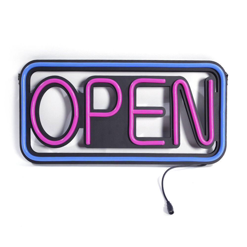 Zimtown Horiaontal Neon Style LED Open Sign Light Opensig...
