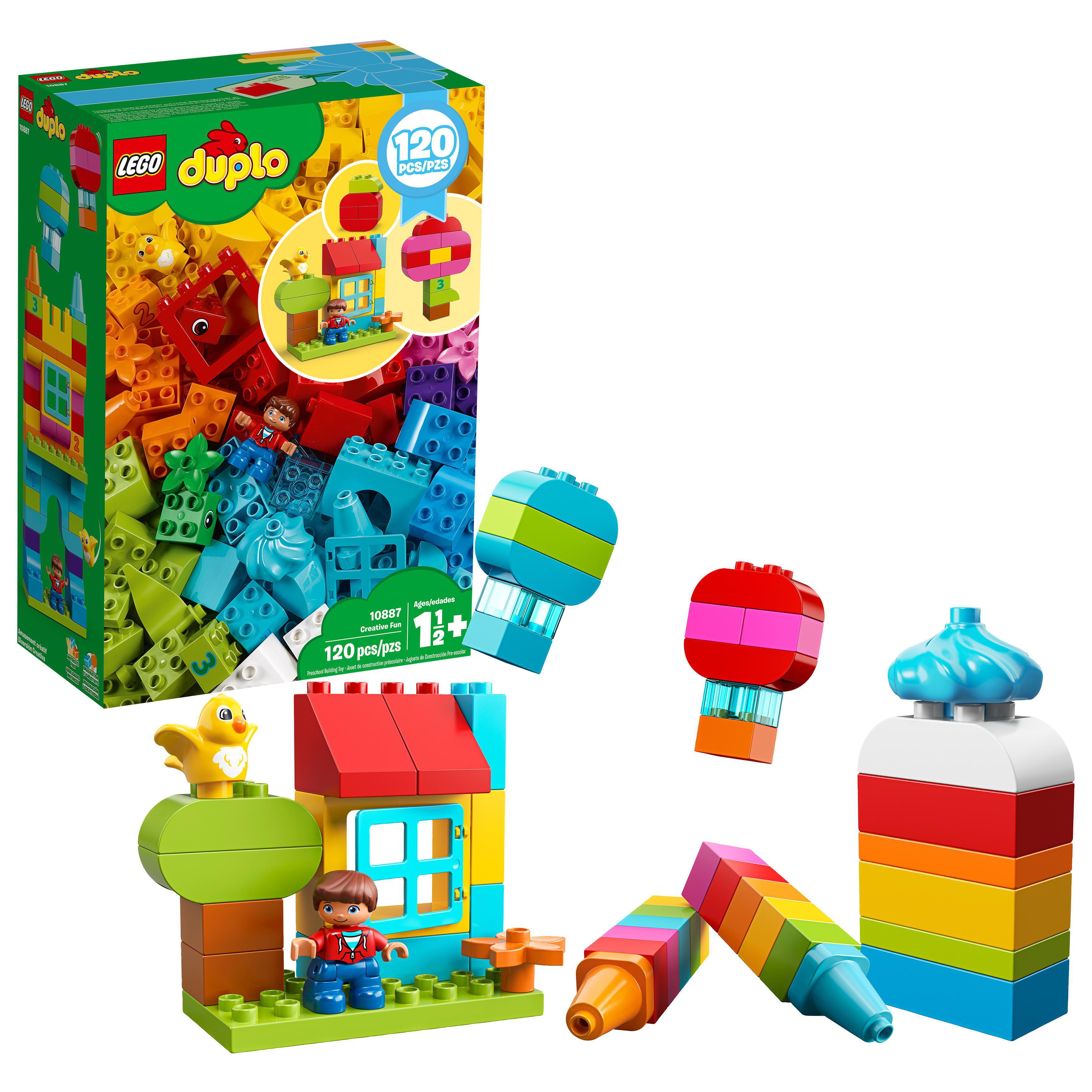 LEGO DUPLO Creative Play Master Shed Toddler Cars Large Building Blocks Kids