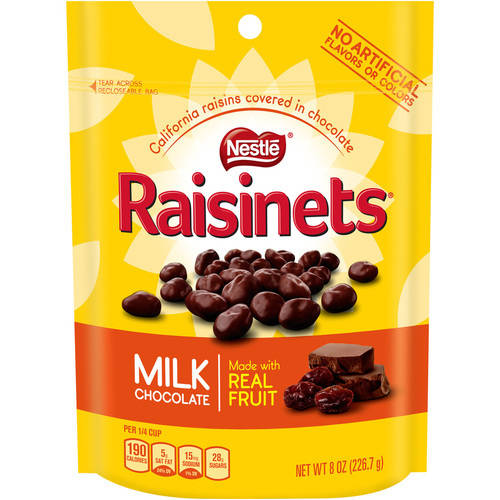 Nestle Raisinets Milk Chocolate Covered Raisins, 11 oz